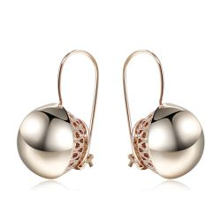 Double Round Ball Silver Gold  Trop Dangle Earrings for GIFT free shipping