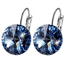 Made with Swarovski Crystal Bella Pierced Earrings