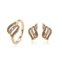 Fashion Jewelry set for Women 18K Gold toned