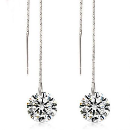 Holiday Gift Christmas Party Crystals from Swarovski Rhodium plated jewelry