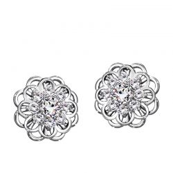Flower Style High Quality  Cubic Zircon Fashion Earring