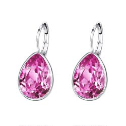 Water Drop Crystals from Swarovski Elegant fashion Earrings