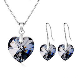 Heart  Crystals from SWAROVSKI ® fashion Jewelry Set