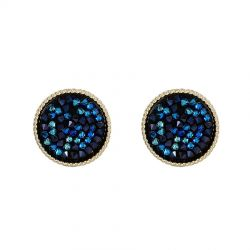 Original Pave Crystals from Swarovski  Stud Big Earring for Women