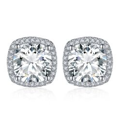 5ct Cubic Zirconia Earrings 925 Sterling Silver Earrings For Women