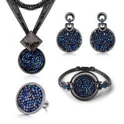 Original Pave Crystals from Swarovski Fashion Jewelry set