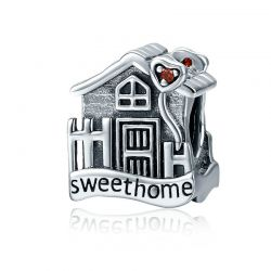 Genuine 100% 925 Sterling Silver Sweet Home Loft Villa