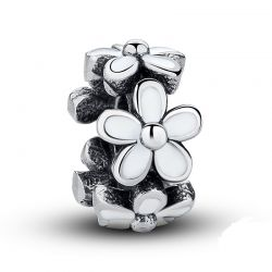 Lily Flower Metal Beads Spacer Lovely Warm Gift Charms