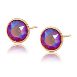 Original Swarovski Crystals stud earrings
