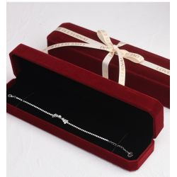 Red wine Jewelry boxes for Gift wrapping