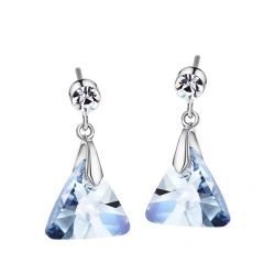 Swarovski Elements Crystal Dangle Earrings for Girls