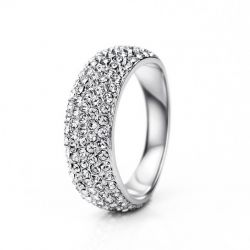 Auden Rhinestone Platinum plated Ring for Women