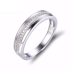 100% 925 Sterling Silver Classic European and American classic rings