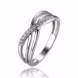 Love Romantic Anniversary Wedding Promise Ring 925 Sterling Silver