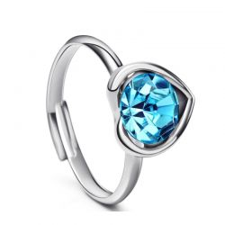 Fashion Love Heart shape Ring for Girls