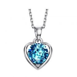 Heart Love Gift for Girls Necklaces & Pendant