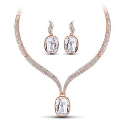 Luxury Large Crystals from Swarovski Jewelry Sets for Women