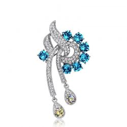 Fashion Auden Rhinestone Fashion Brooches for Women