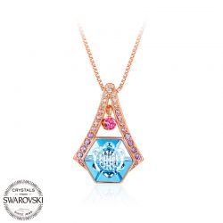 Jewelry Accessories Swarovski Elements crystal Pendant Necklace Mother days Gift