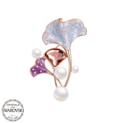 Crystals from Swarovski Fashion accessories Brooch  pin  for Women