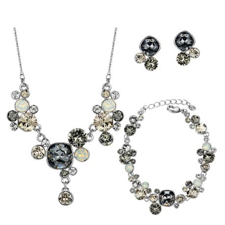 MADE WITH SWAROVSKI ELEMENTS Crystals  African Beads Wedding Jewelry Sets For Women