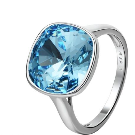 Square Shape  4 colors Crystals from Swarovski ® Fashion Ring for women