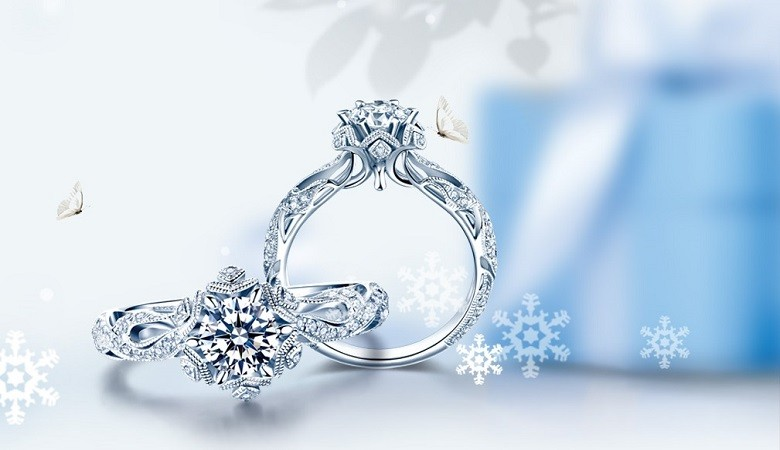 SPRING SALLE-70% OFF  Wedding Diamond Rings