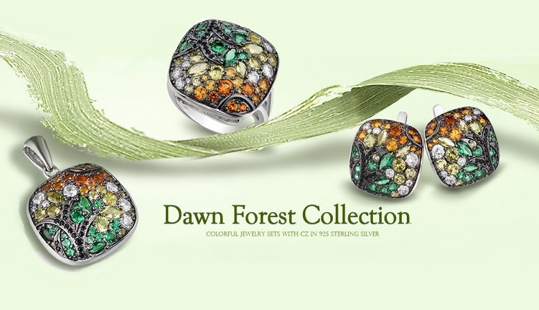 Natural Gemstones Silver Jewelry